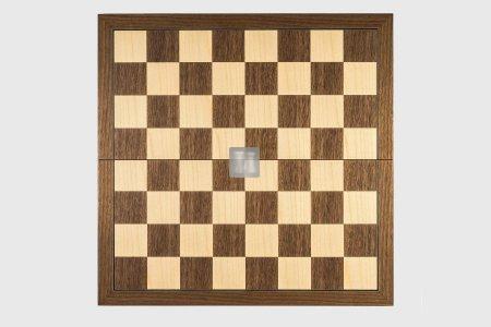 Folding Wooden Chessboard Walnut/Maple