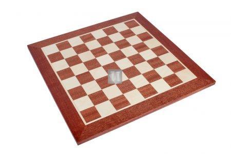 Tournament Chessboard - mahogany/sycamore wood