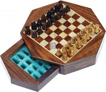 Wooden magnetic travel sets - Octagon Mini Field