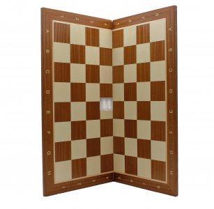 54 x 54 Scacchiera pieghevole in legno