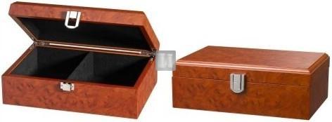 Scatola per scacchi in legno di similradica