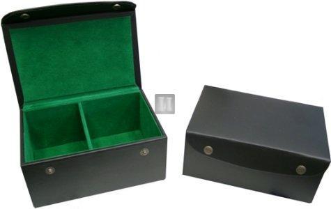 Leatherette chess box
