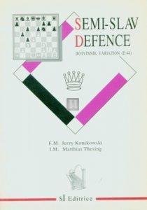 Semi-Slav Defence Botvinnik Variation - D44 - 2nd hand