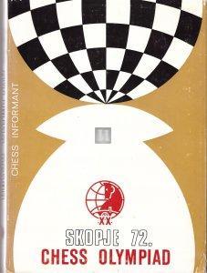 Skopje 72 Chess Olympiad - 2nd hand