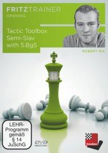 Tactic Toolbox Semi-Slav with 5.Bg5 - DVD