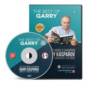 THE BEST OF GARRY KASPAROV - CD (CBH-book+PGN)
