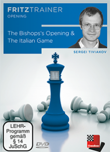 The Bishop's Opening and The Italian Game - DVD
