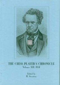 The Chess Player's Chronicle edited by H. Staunton 1841-1853 (13 books)