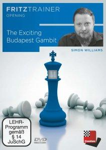 The Exciting Budapest Gambit - DVD