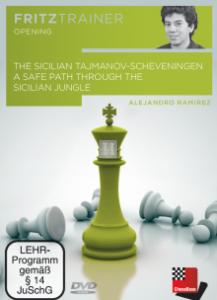 The Sicilian Tajmanov-Scheveningen - DVD