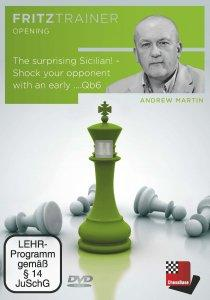 The surprising Sicilian - Shock your opponent with an early ...Qb6 - DVD