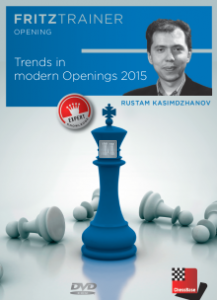 Trends in modern chess openings 2015 - DVD