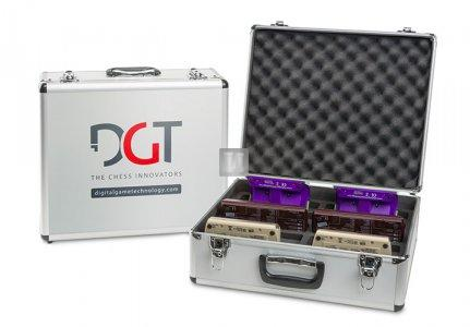 Valigetta in alluminio per 10 orologi DGT