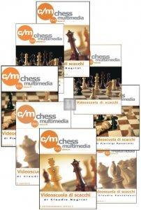 32 DVD Serie Completa Videoscuola di Scacchi