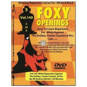 White Repertoire Against The Sicilian, Center Counter & Pirc - DVD
